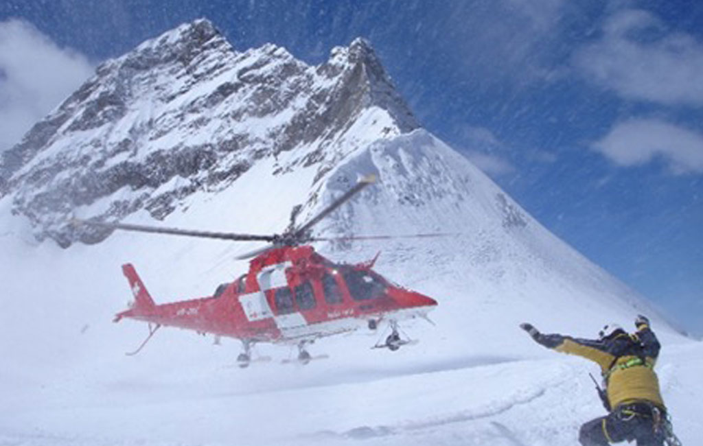 FCS Helicopter Rettung im Gebirge