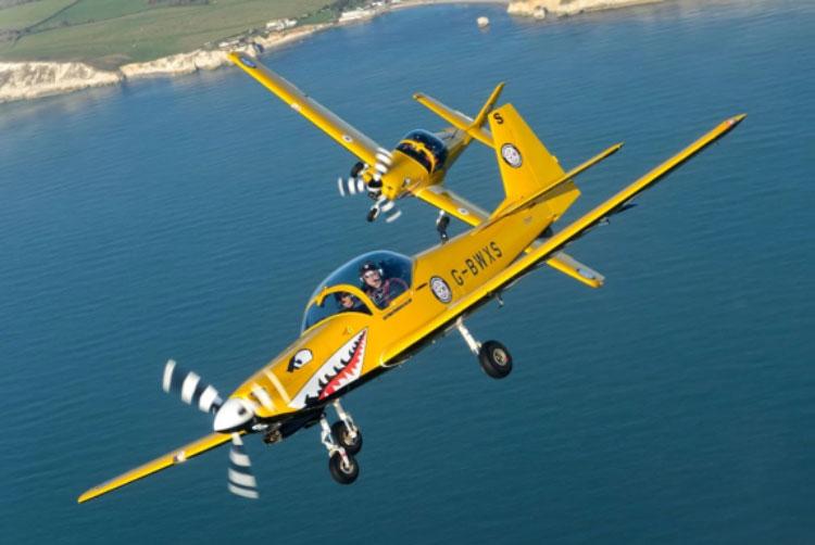 FCS Flug Training in Großbritanien